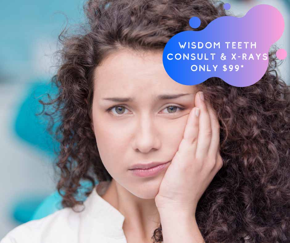 $99 Wisdom teeth consultation at Blackburn Dentist Melbourne
