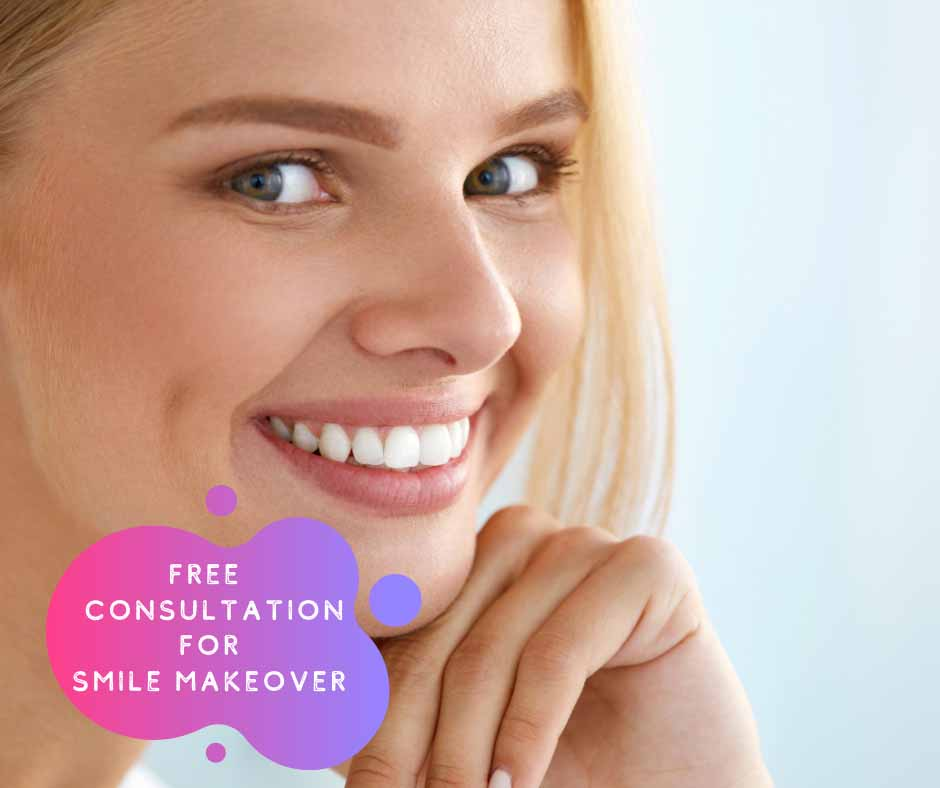 Complimentary Smile Makeover Consultation With Melbourne Dentist