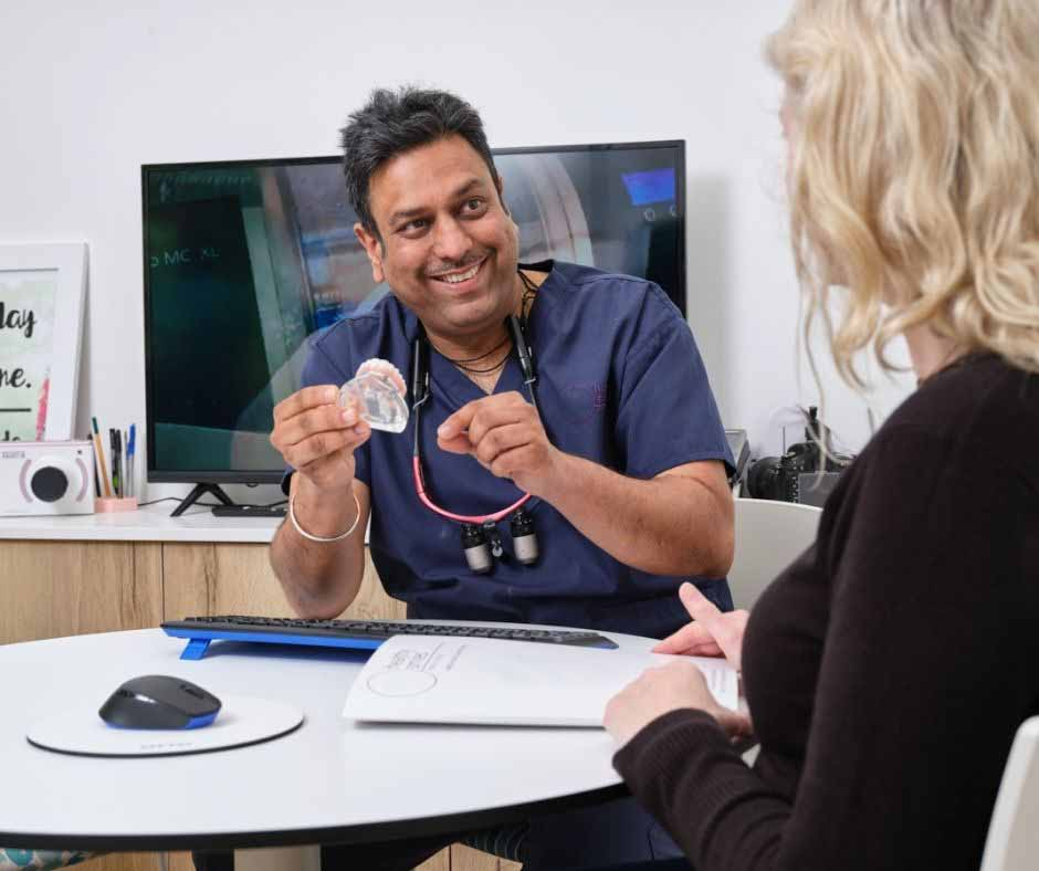 Solutions to fix worn-down teeth in Blackburn at Healthy Smiles